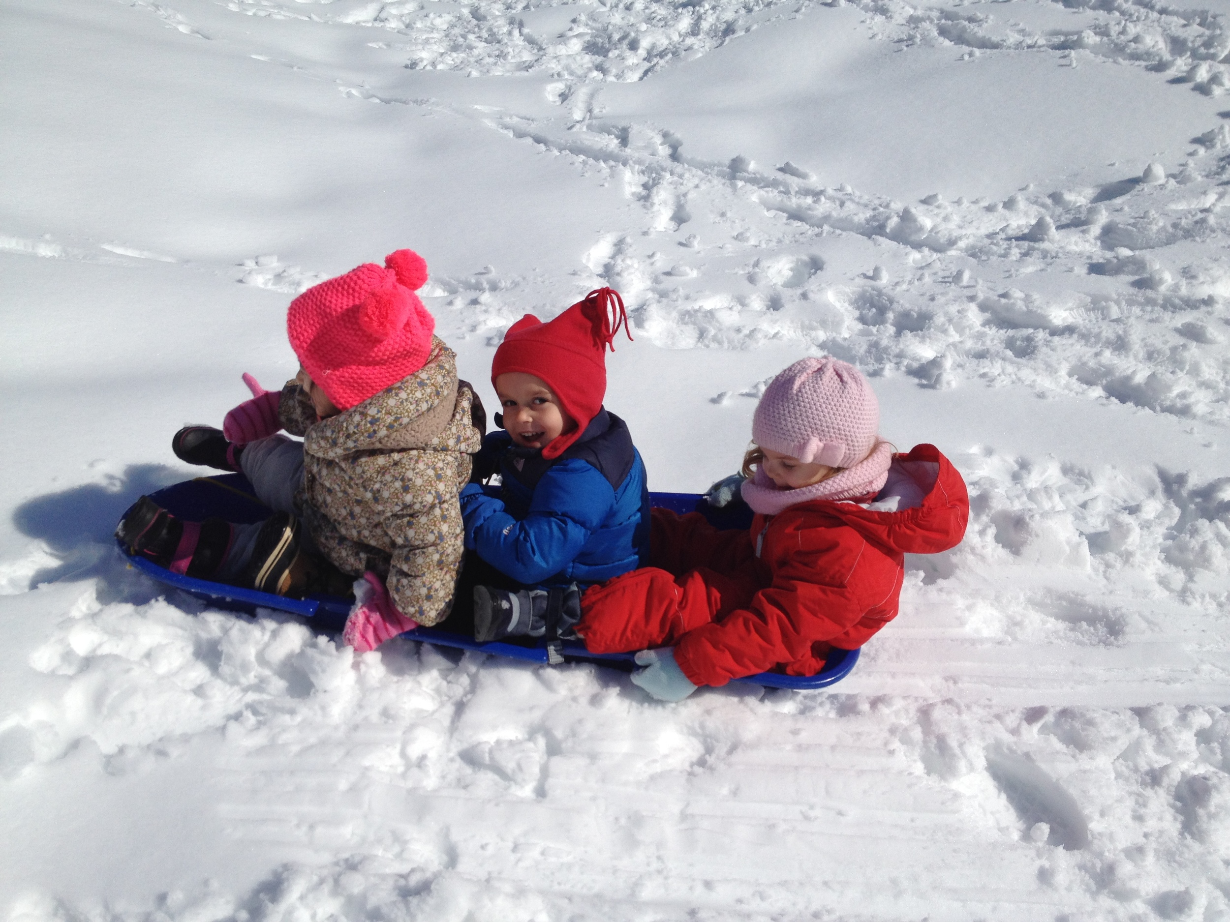 One last chance to sled!
