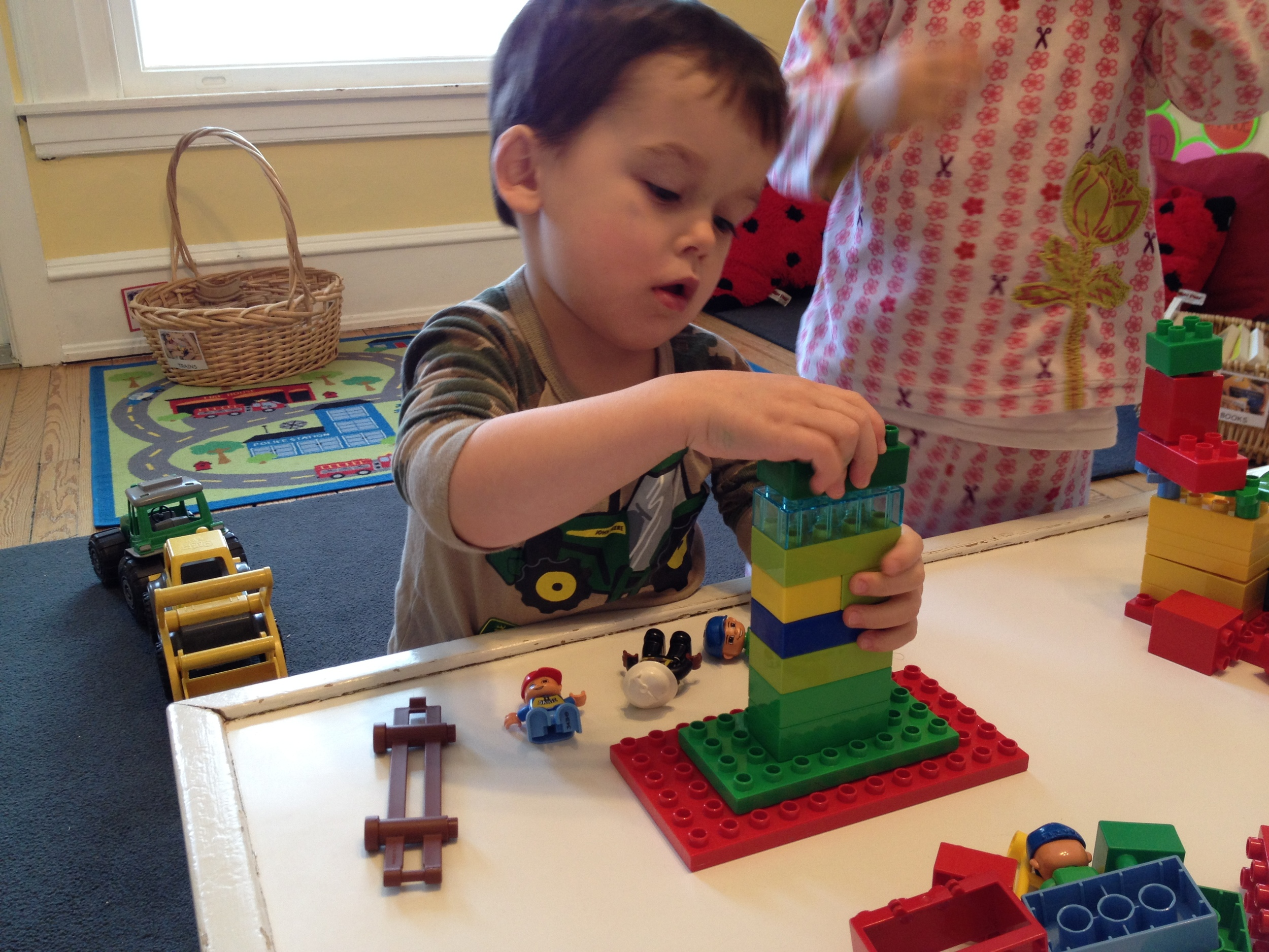 Building with Duplo Blocks
