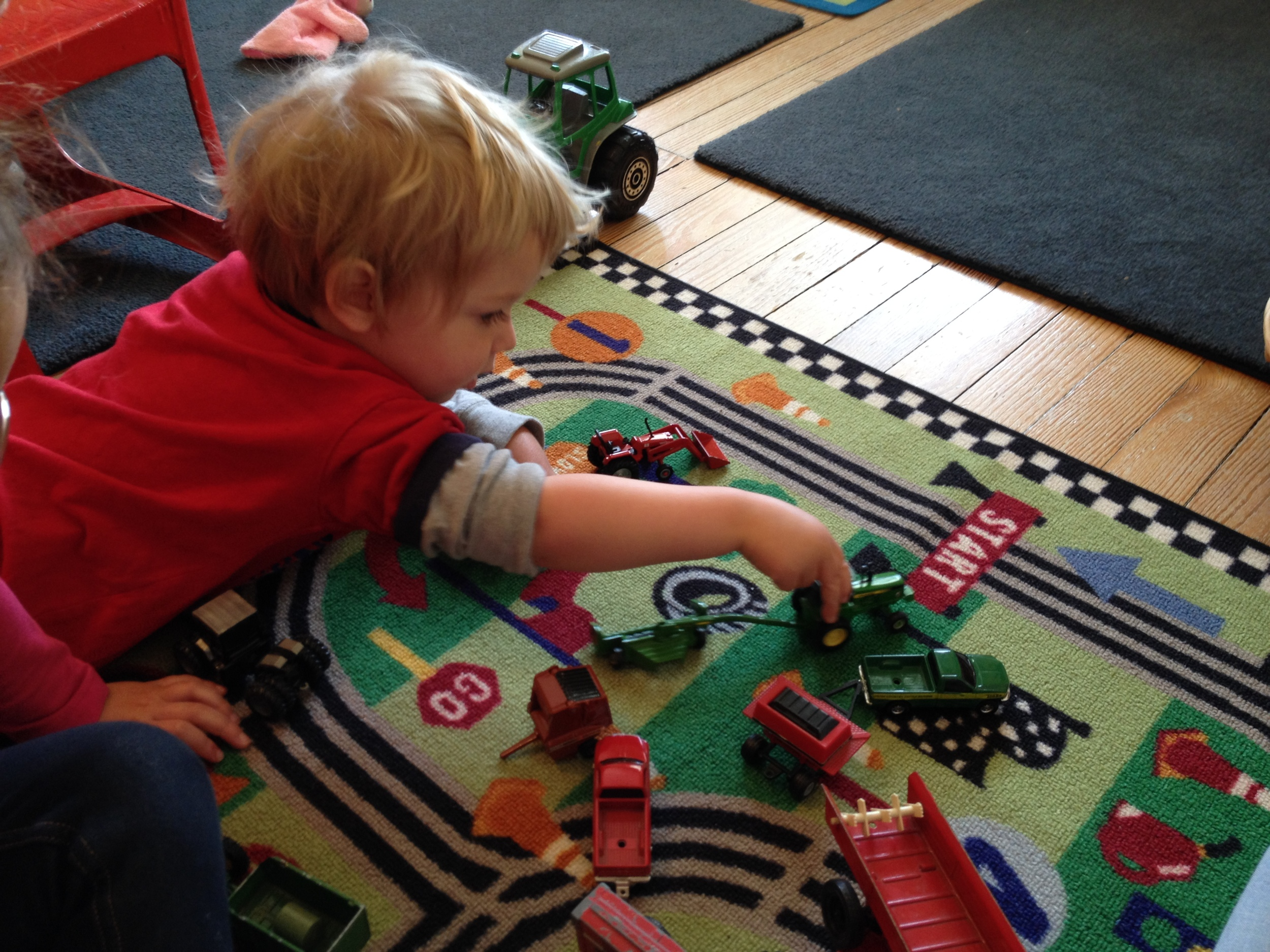 Fun with tractors and other farm equipment