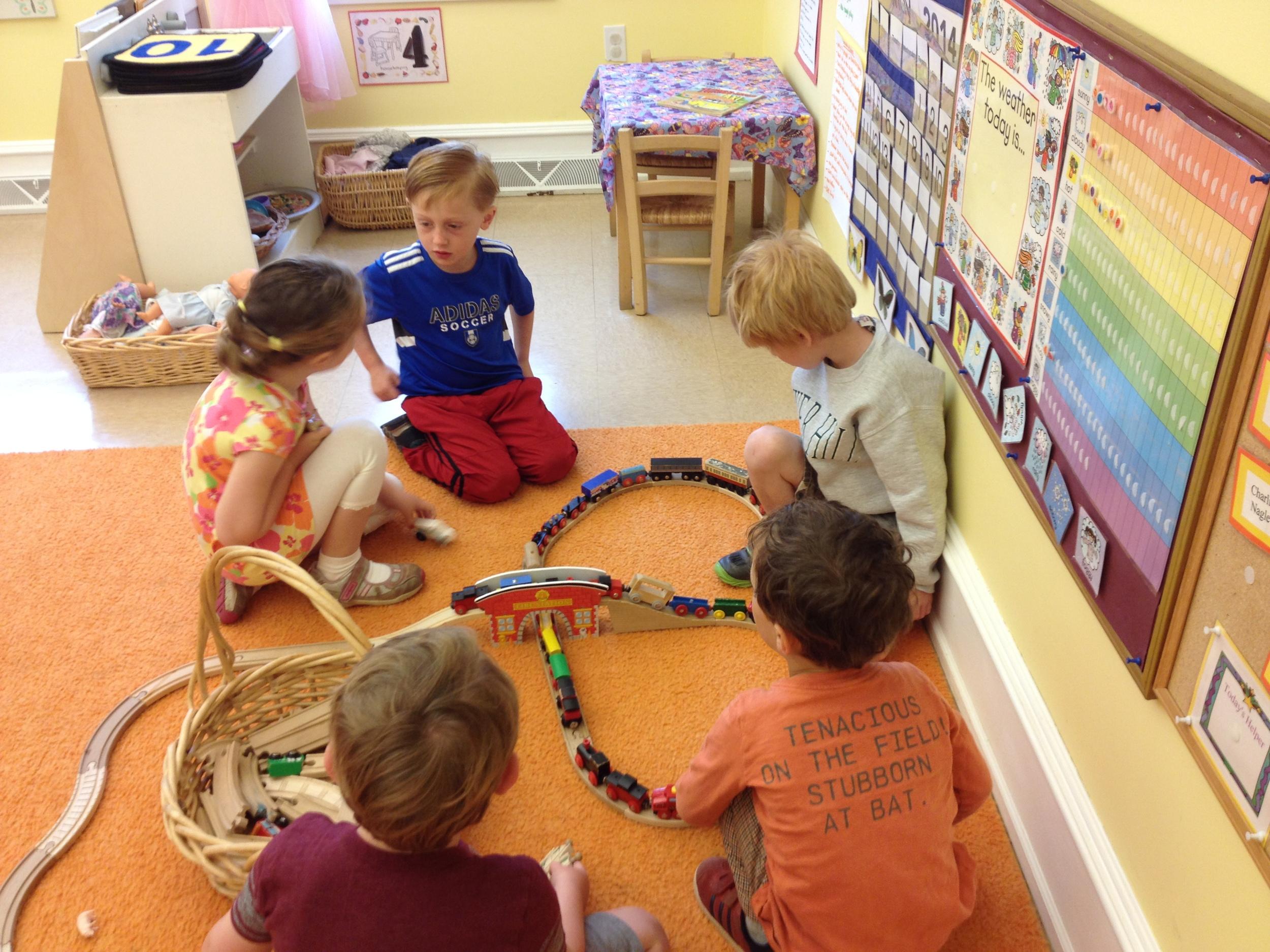 building a train track