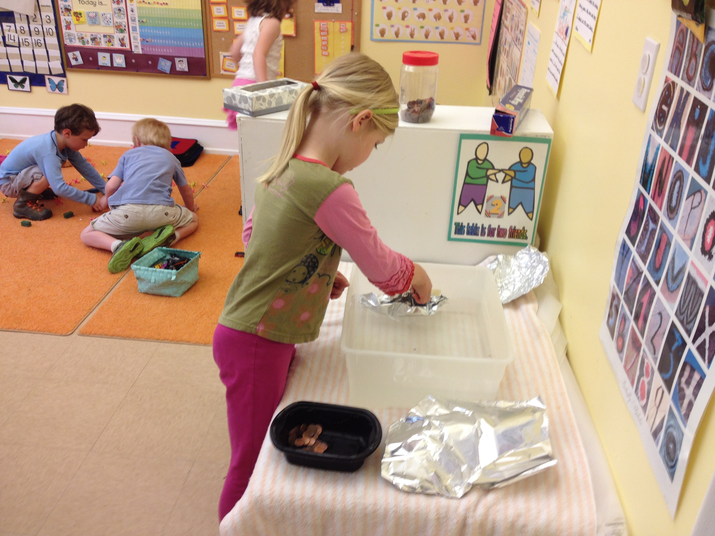 How many pennies can your foil boat hold before it sinks?