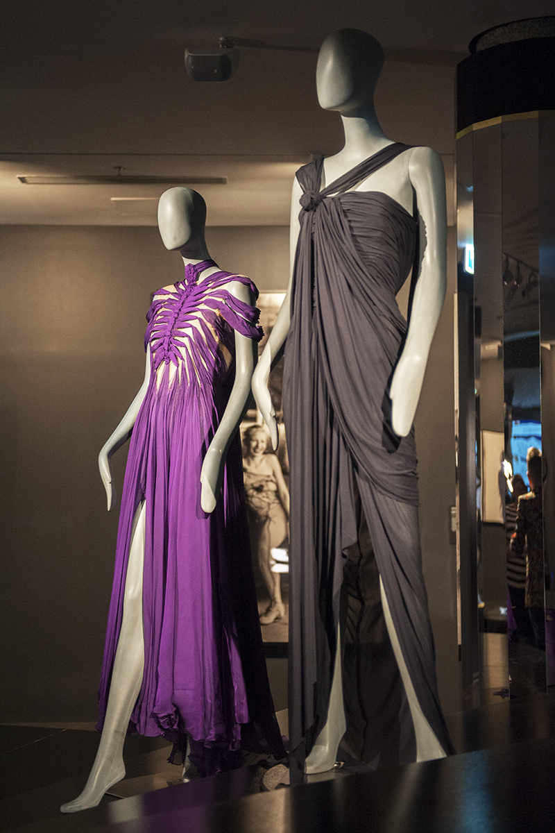 Gaultier dresses on loan from Kylie Minogue