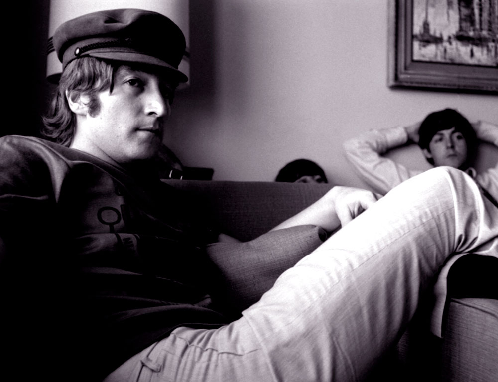 John Lennon in Anchorage, 1966 by Robert Whitaker