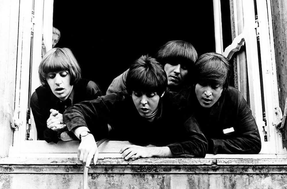 The Beatles in Cliveden, 1965 byRobert Whitaker