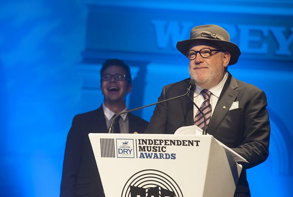 Winner of best Independent Jazz Album Paul Grabowsky