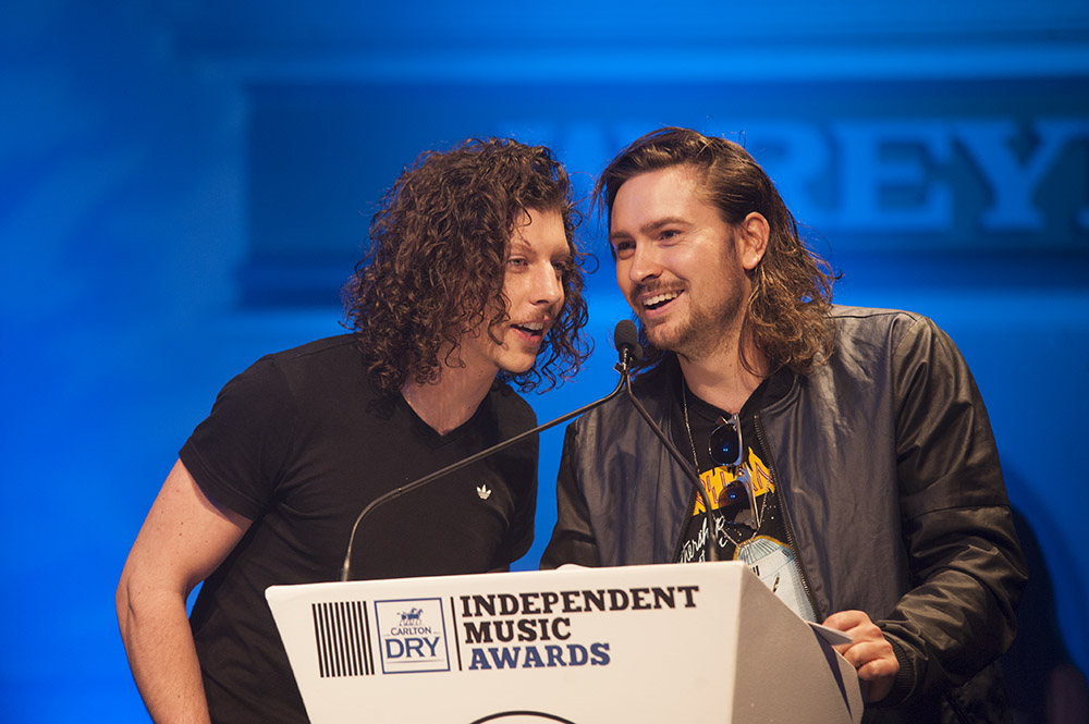 Winners of the Best Independent Dance/Electronica or Club Single category Peking Duk