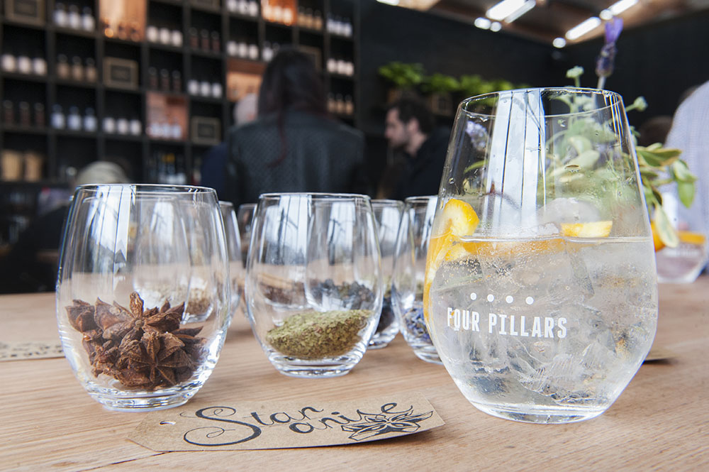 Four Pillars Gin launch party - image courtesy of Kirsty Umback
