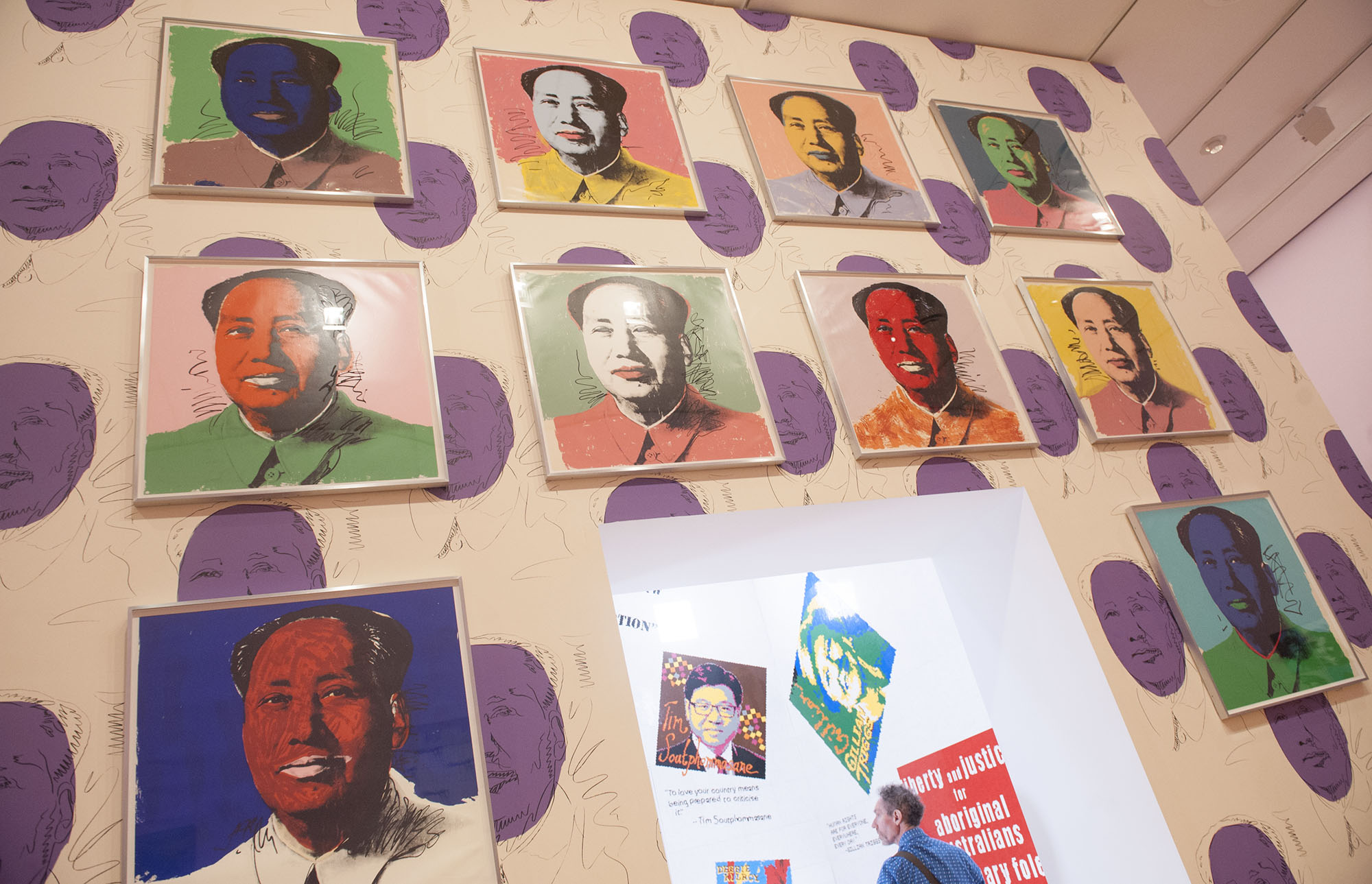 Screen prints of Mao Zedong (Andy Warhol) - image courtesy of Kirsty Umback