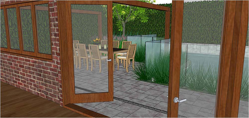 Design for pool area
