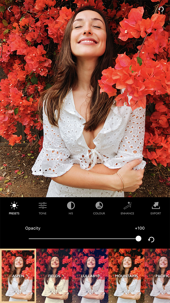 FILTERS - Choose from our free filters created by professional photographers or add to your collection with our extensive pro member presets.