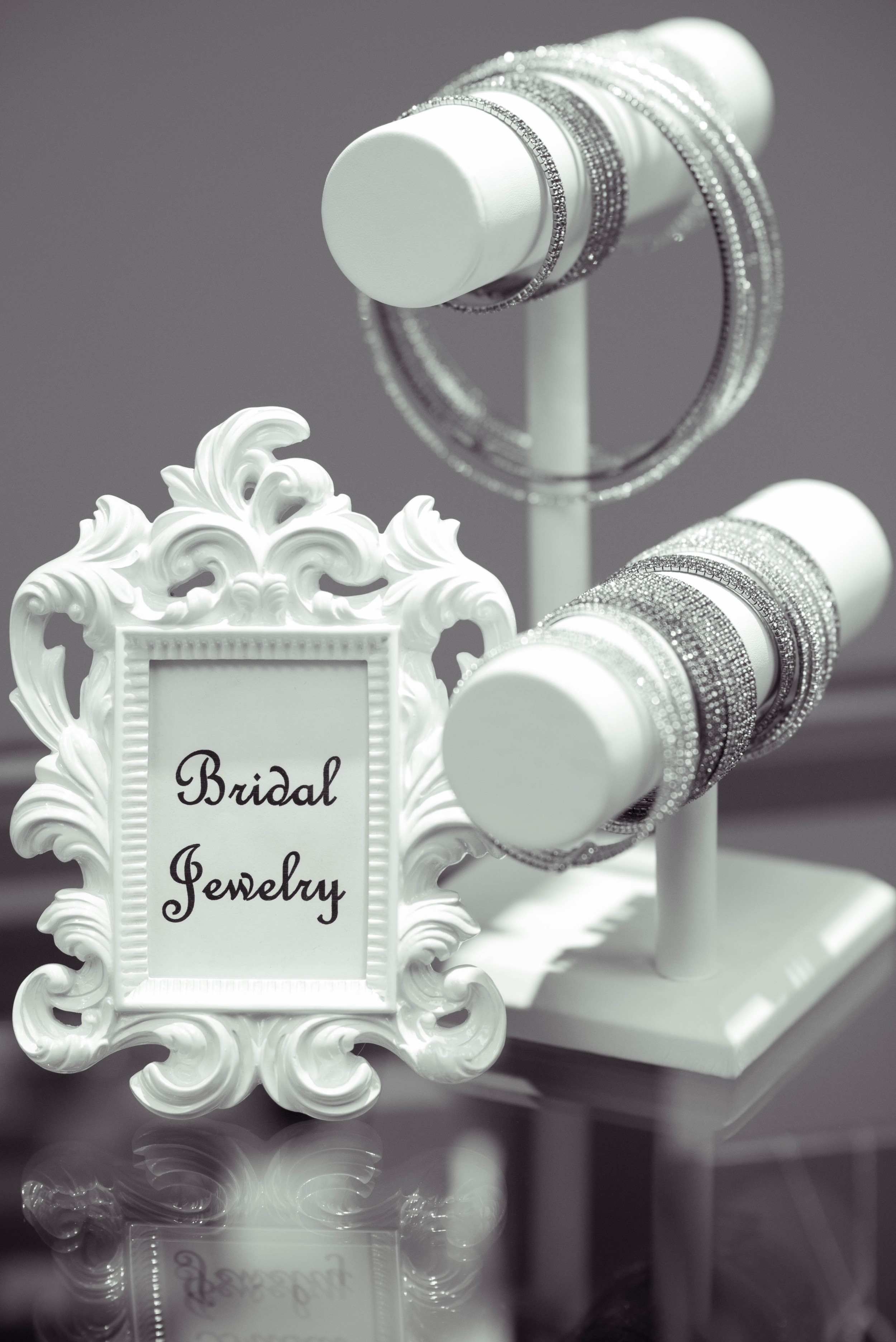 A large selection of Bridal accessories