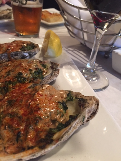Oysters Rockefeller - Tuesday night special (and date night with thehubs)