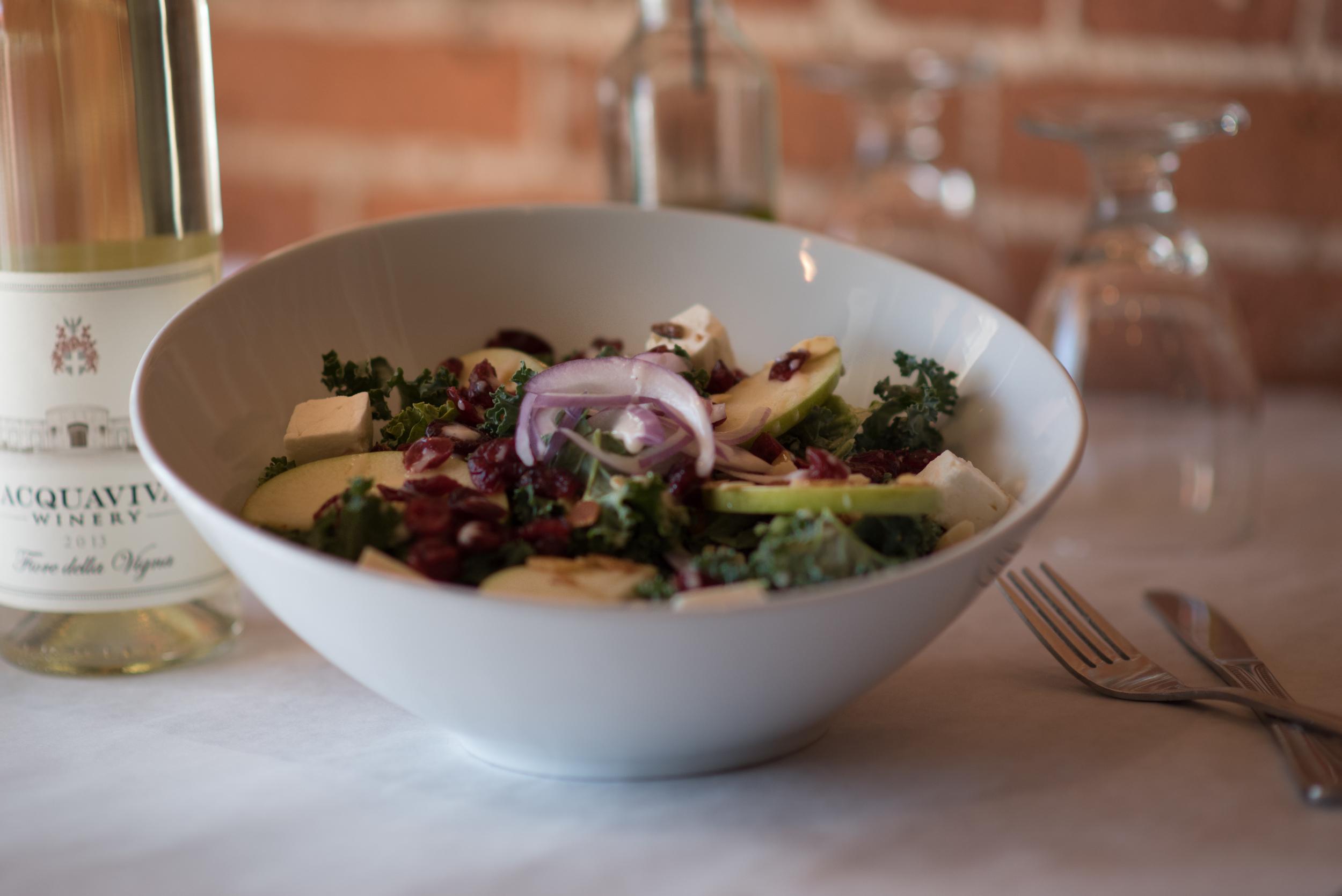 Kale Frutta Salad - my favorite!