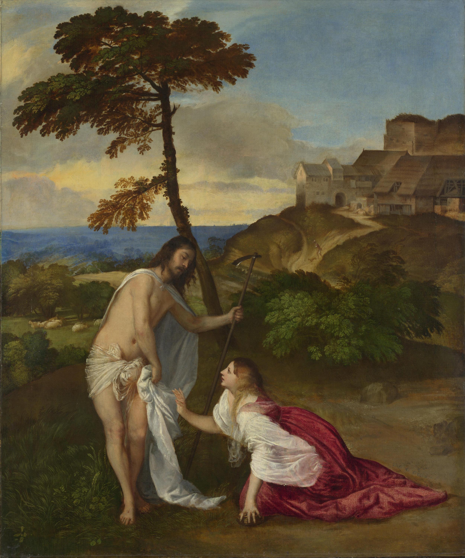 Titian,  Noli me tangere , 16th century