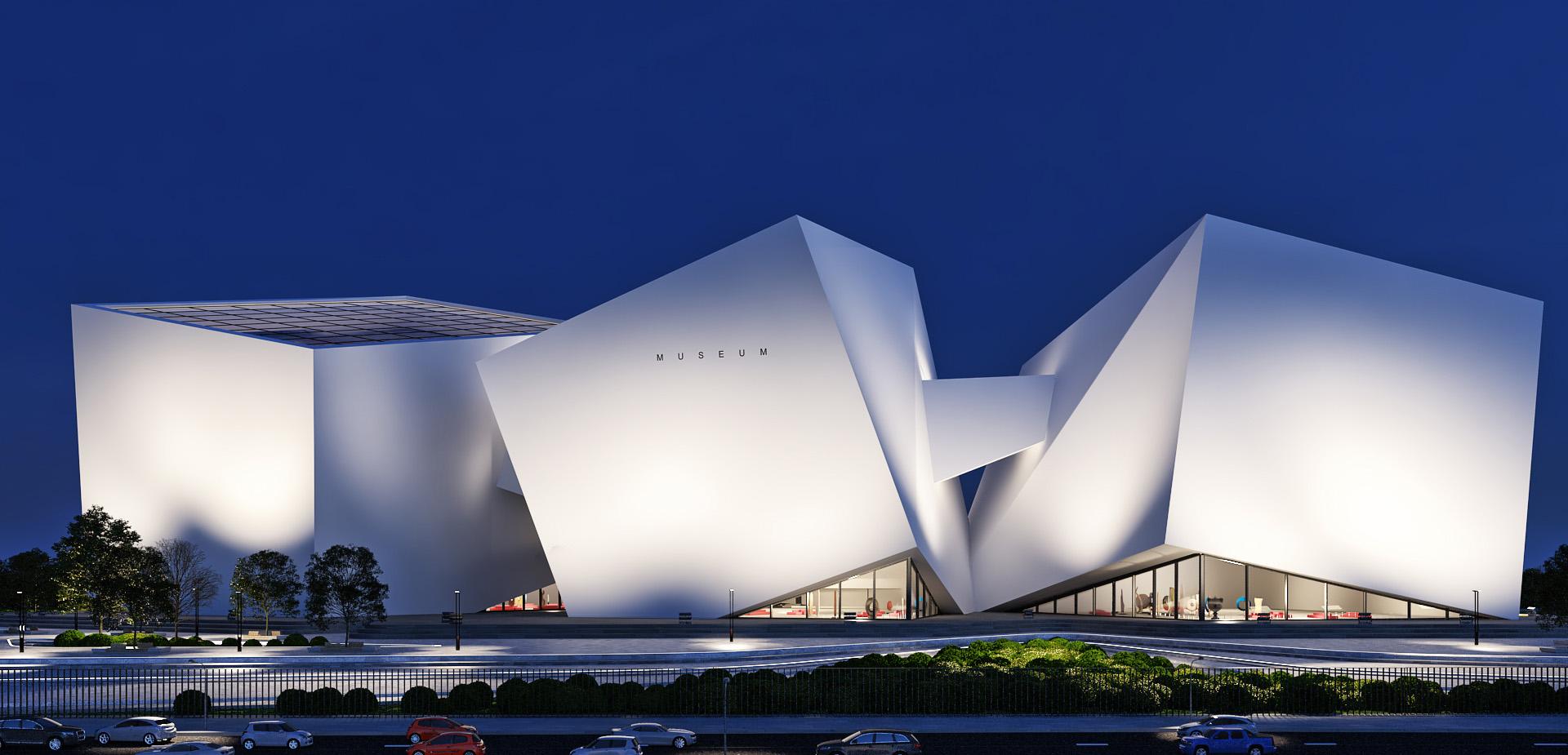 Architecture Museum Of Modern Art A Masow