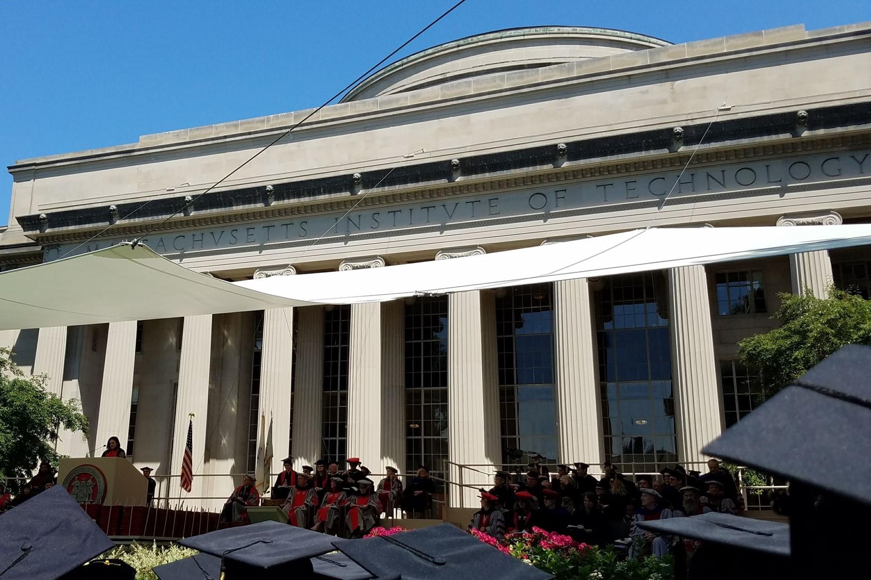 Sandberg gives 2018 MIT Commencement address