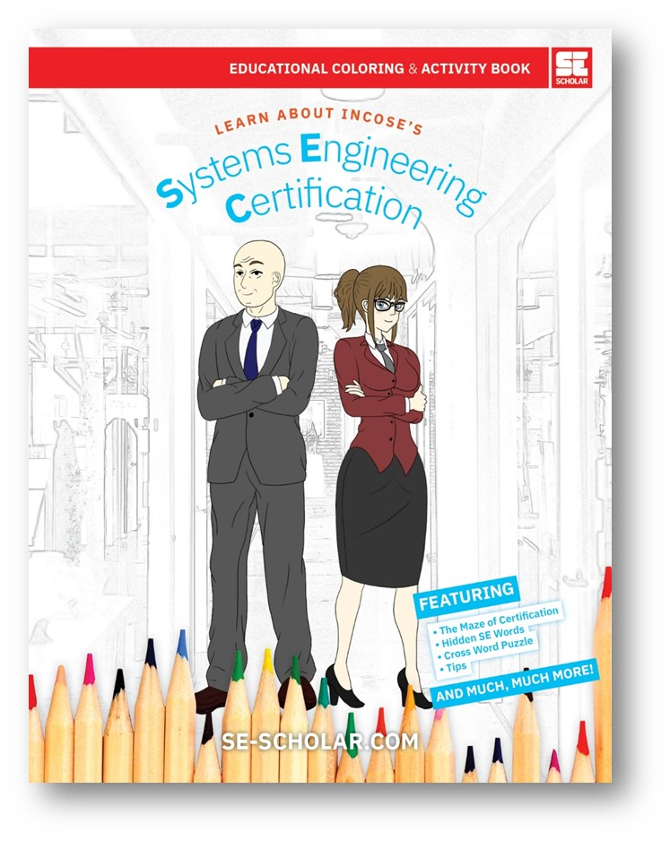 Learn all about the INCOSE SEP Certification Process through this wonderful activity book that we gave away during the syposium.