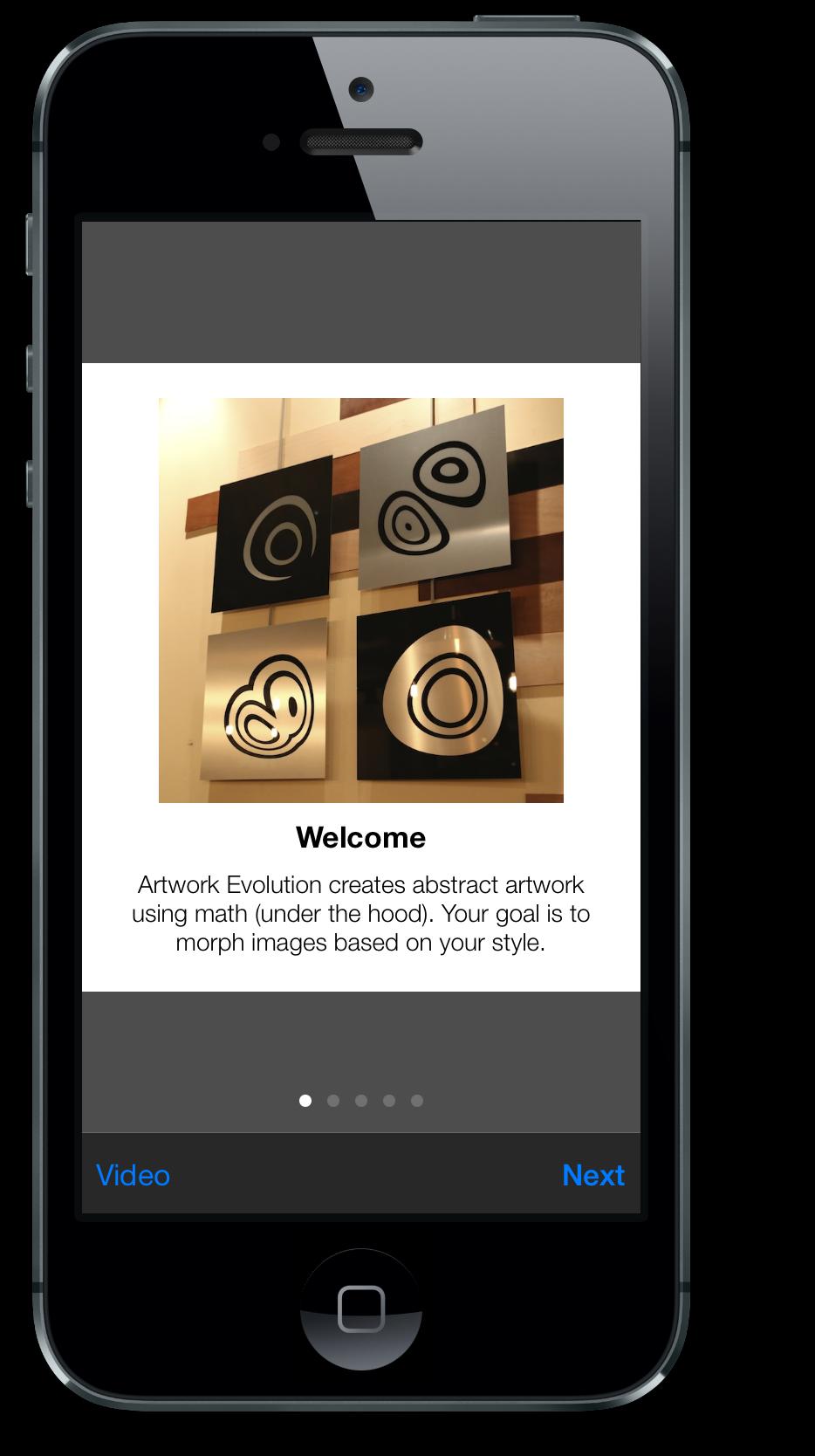 Artwork Evolution 2.0 Creates Abstract Art Using Mathematics