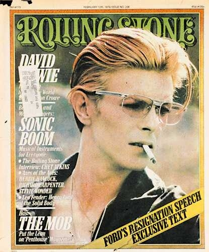 David Bowie - Rolling Stone 1976