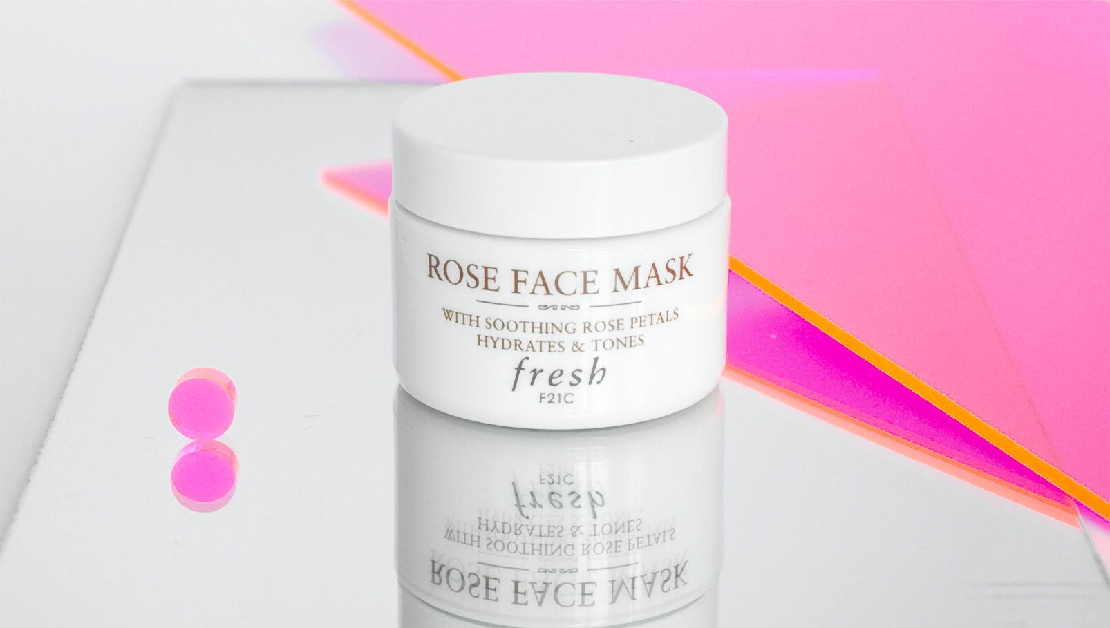 Rose Face Mask, $62