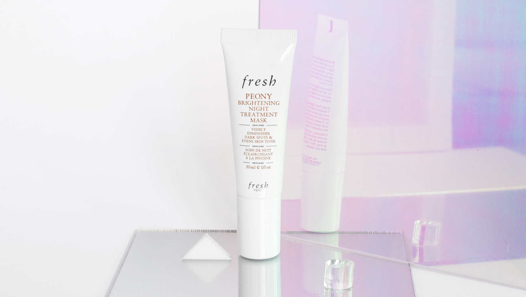 Peony Brightening Night Treatment Mask, $65