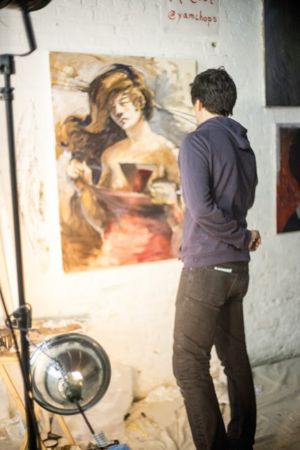 Cameron McCool,  Live Painting
