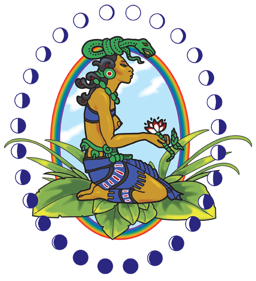 Ixchel, Mayan goddess of fertility and healing
