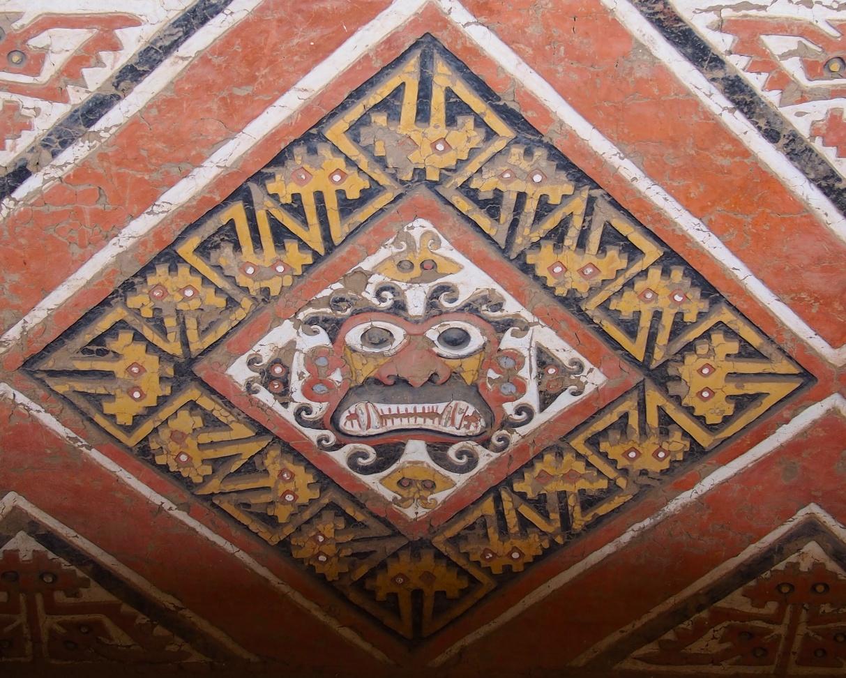 Ai Apaec - the Decapitator, the main deity of the Moche