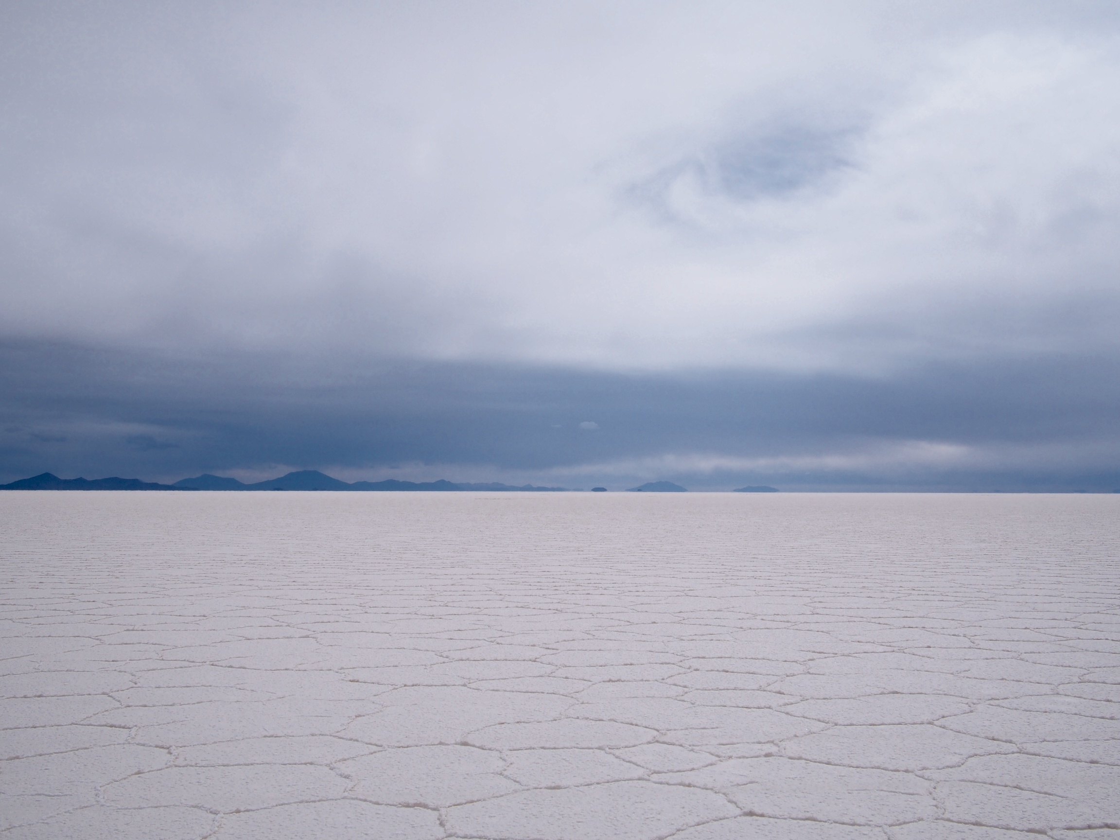 The world's largest salt flat in all its glory at 3,600 meters above sea level