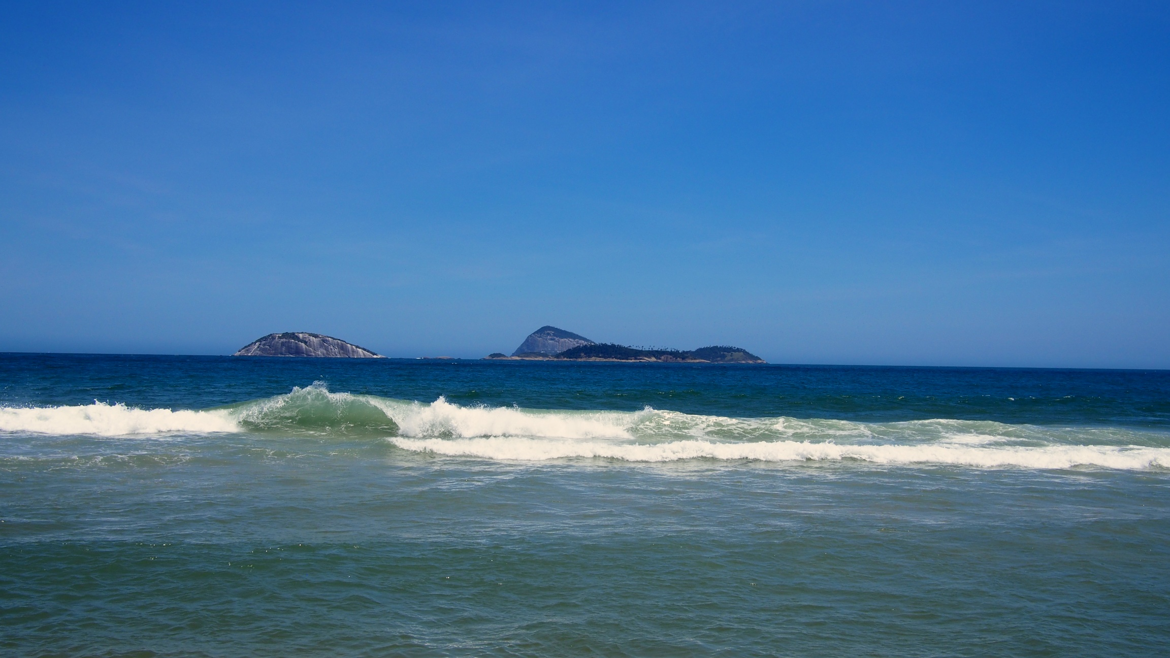 The view from Ipanema Beach