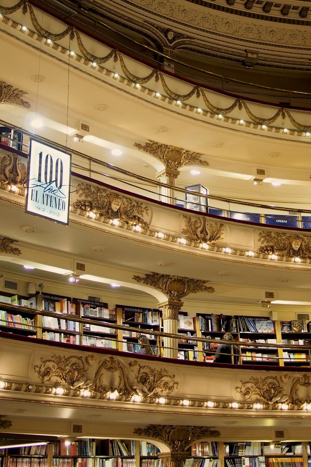 Floors and floors of books