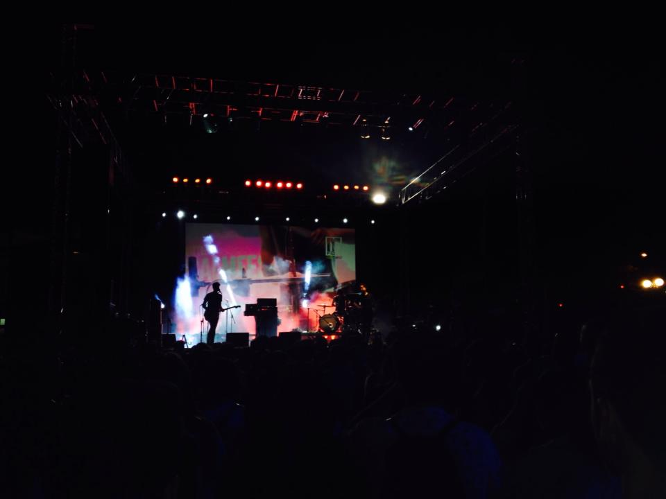MFest, a musical festival showcasing Chilean artists, that Chloe took us to