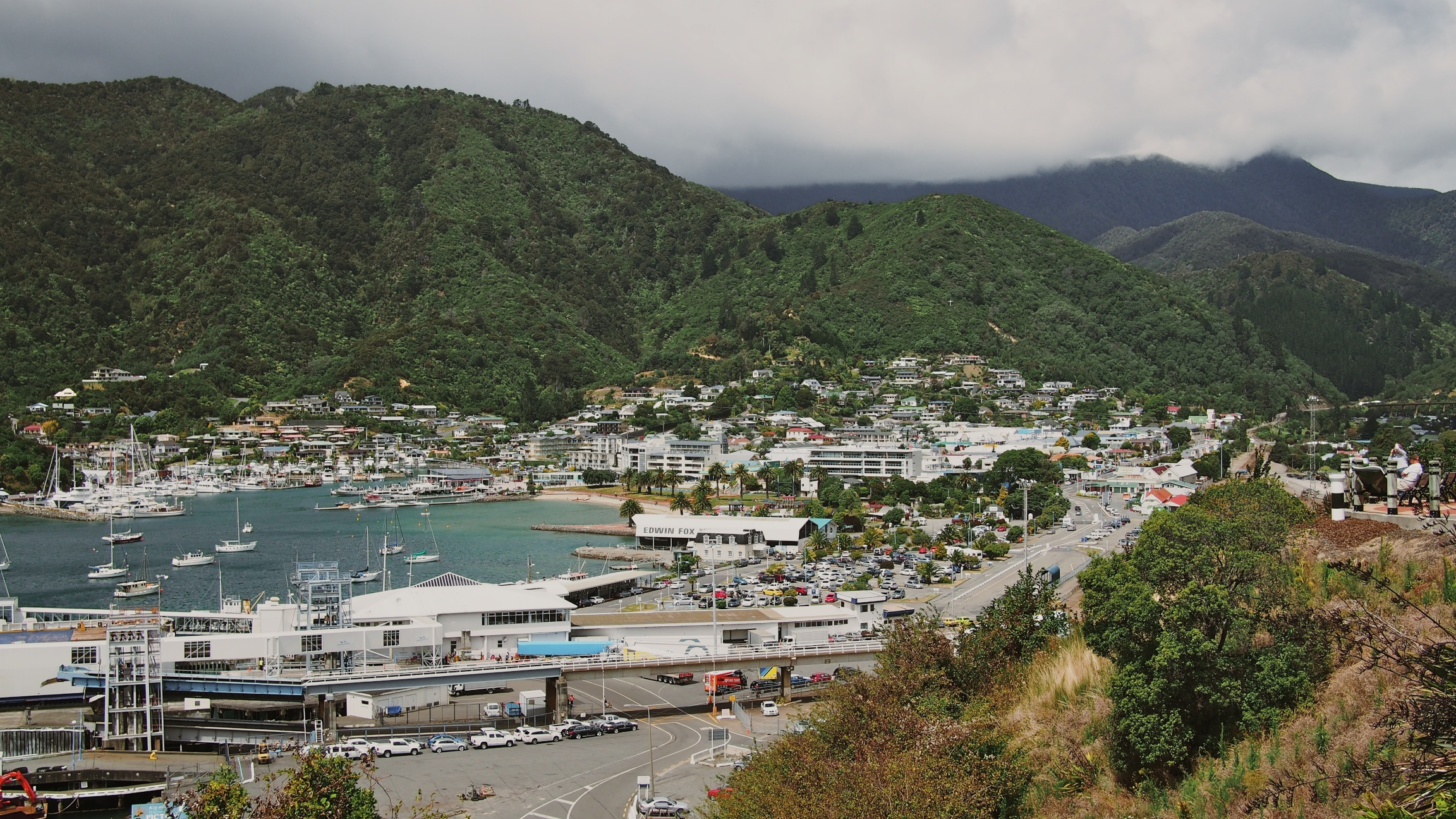 The small little town of Picton