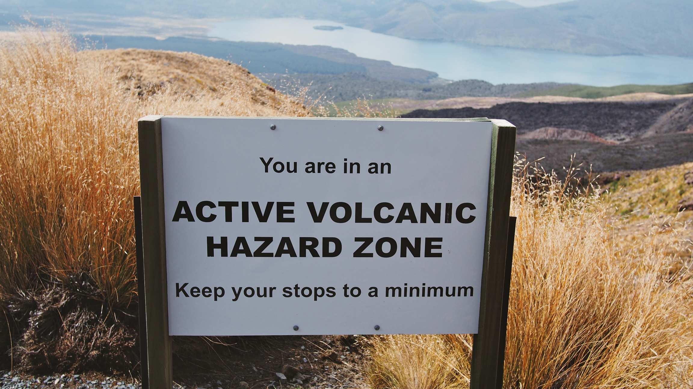 Did you forget about the volcanoes yet?