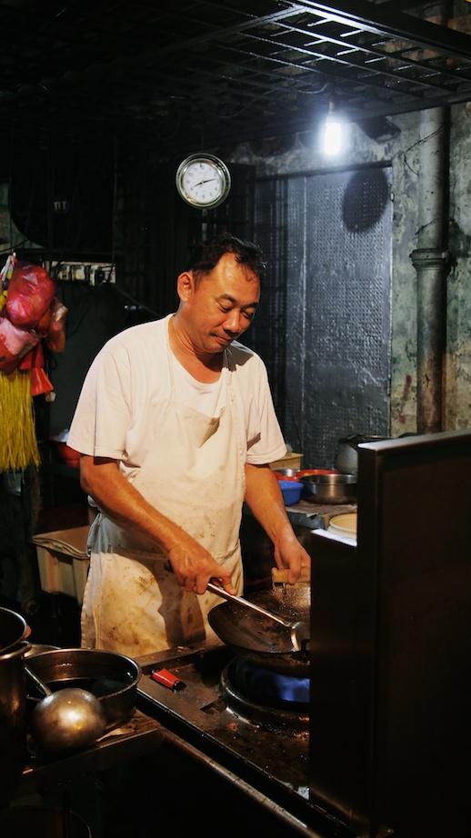 The chef at work - Lian Bee, Kuala Lumpur
