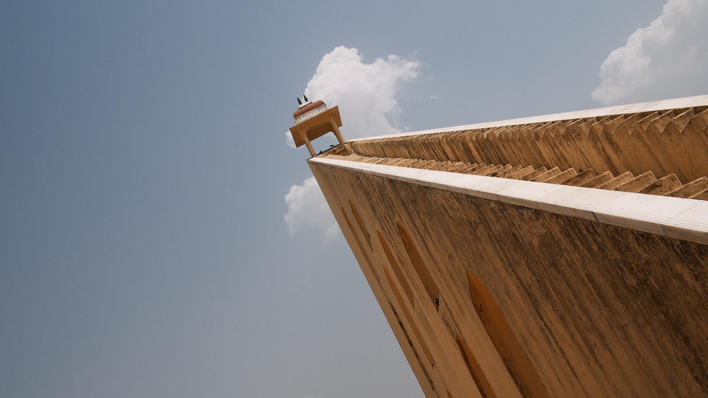 Samrat Yantra, one of the world's largest sundials
