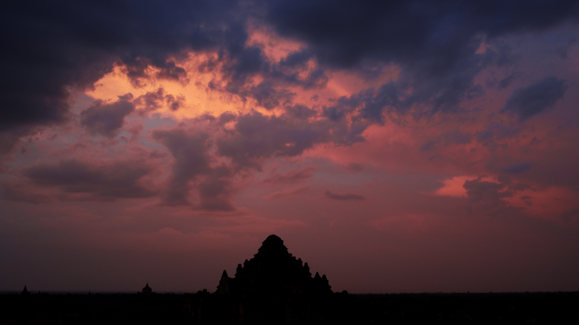 Sunset From North Guni Temple