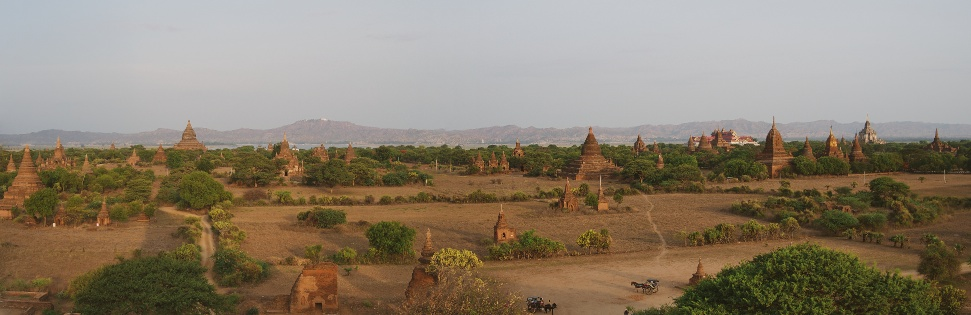 View From Shwesandaw Temple