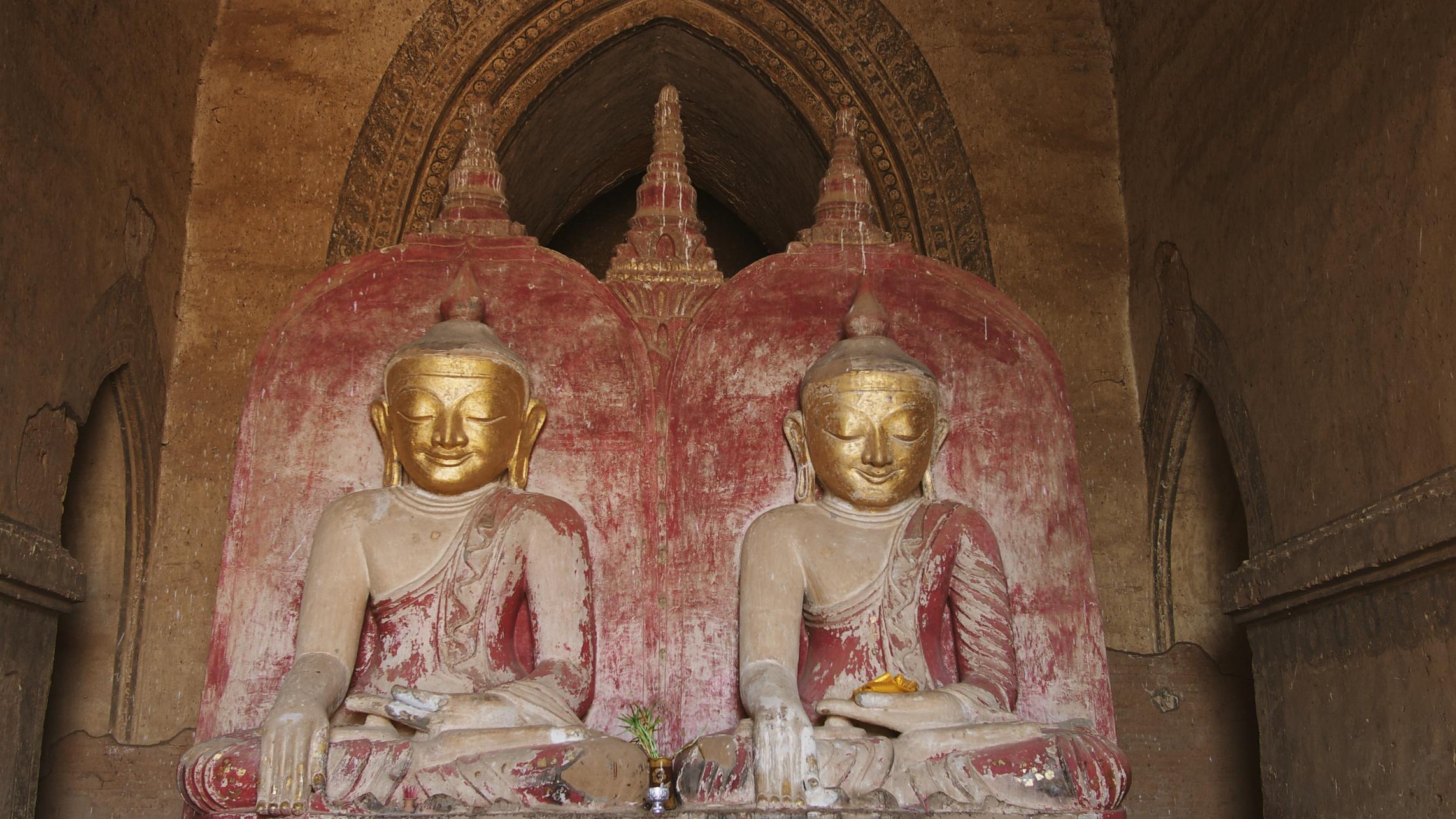 Inside  Dhammayangyi Temple