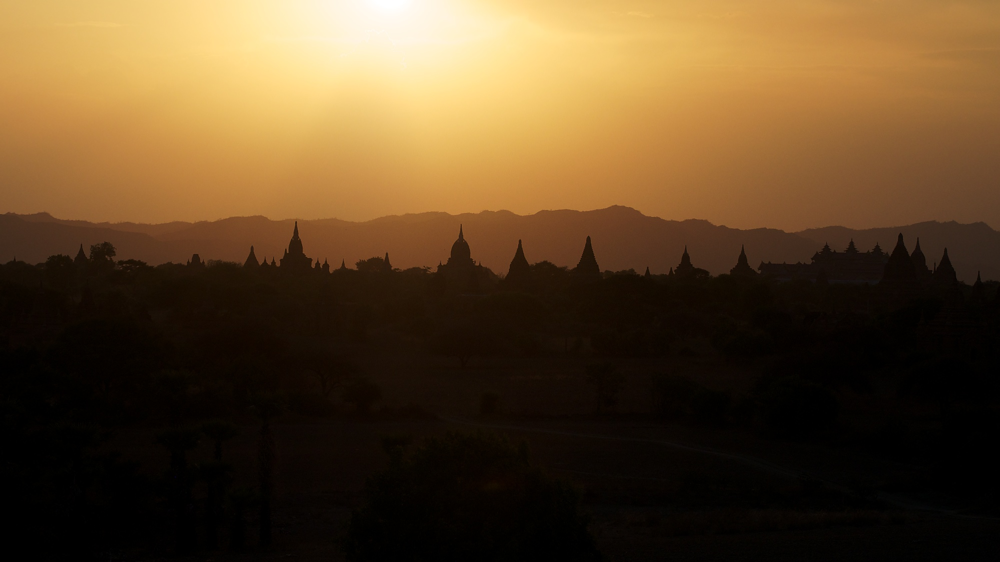 VIEW FROM NORTH GUNI TEMPLE