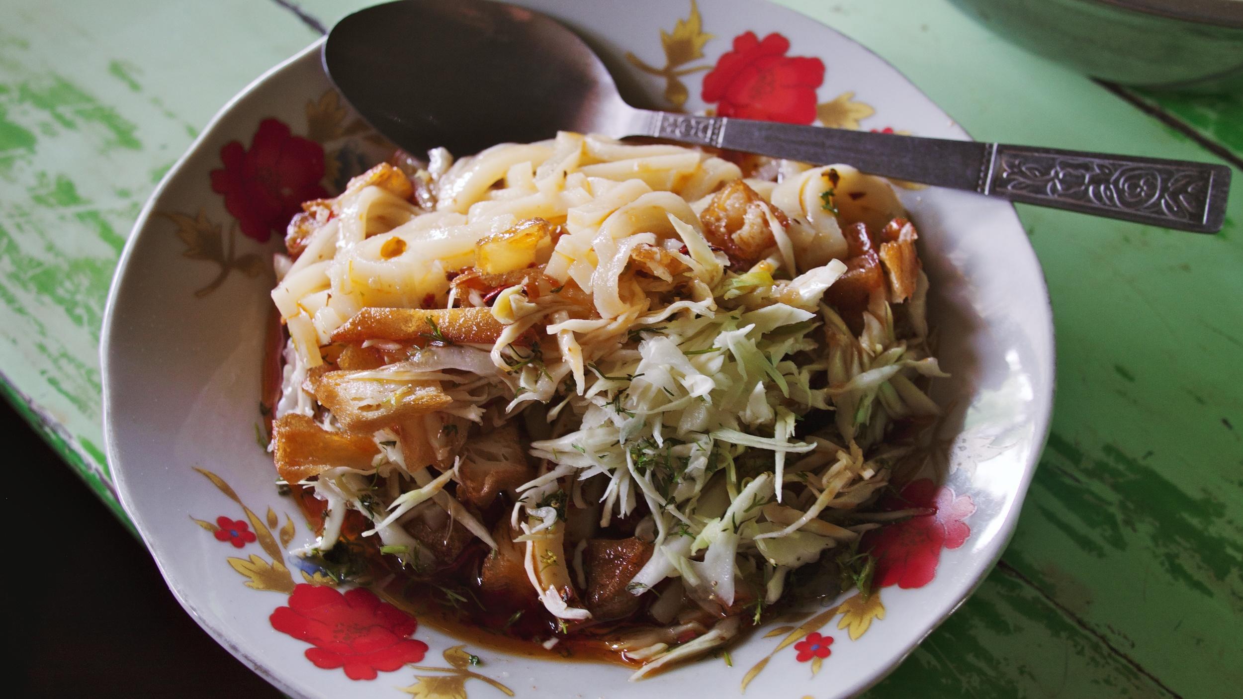 The famous tofu salad
