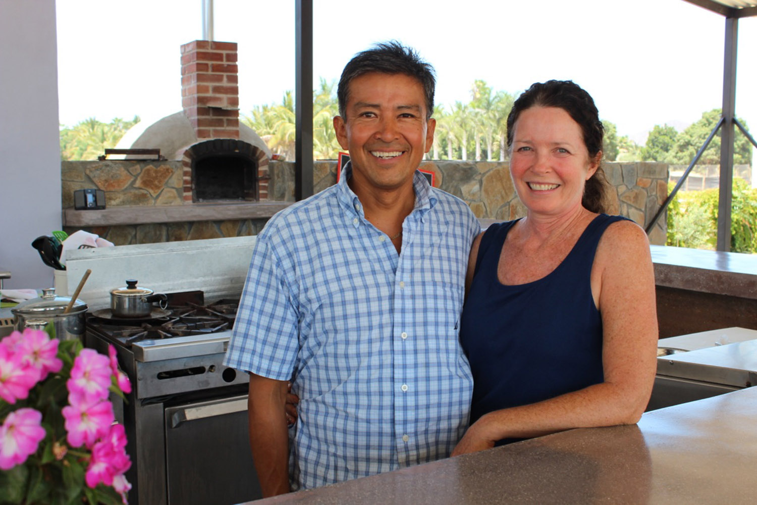 Owners Denise and Marco