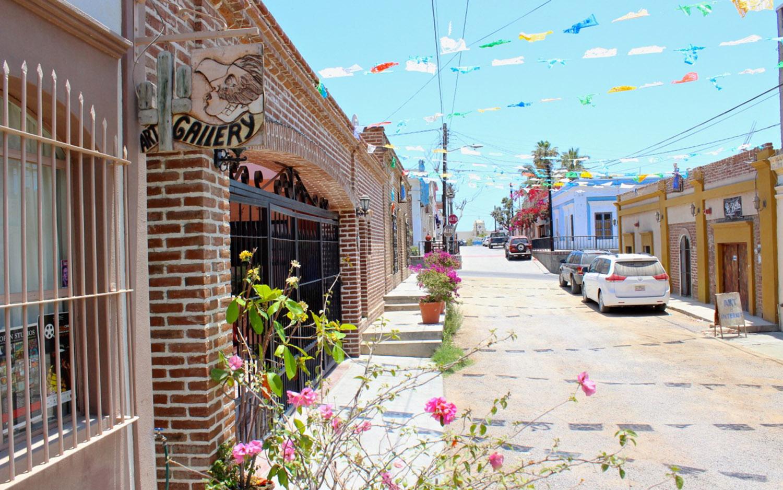 Galleries and artisan shops abound in Todos Santos