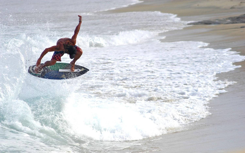 Baja Retreats Skim Boarding Lessons