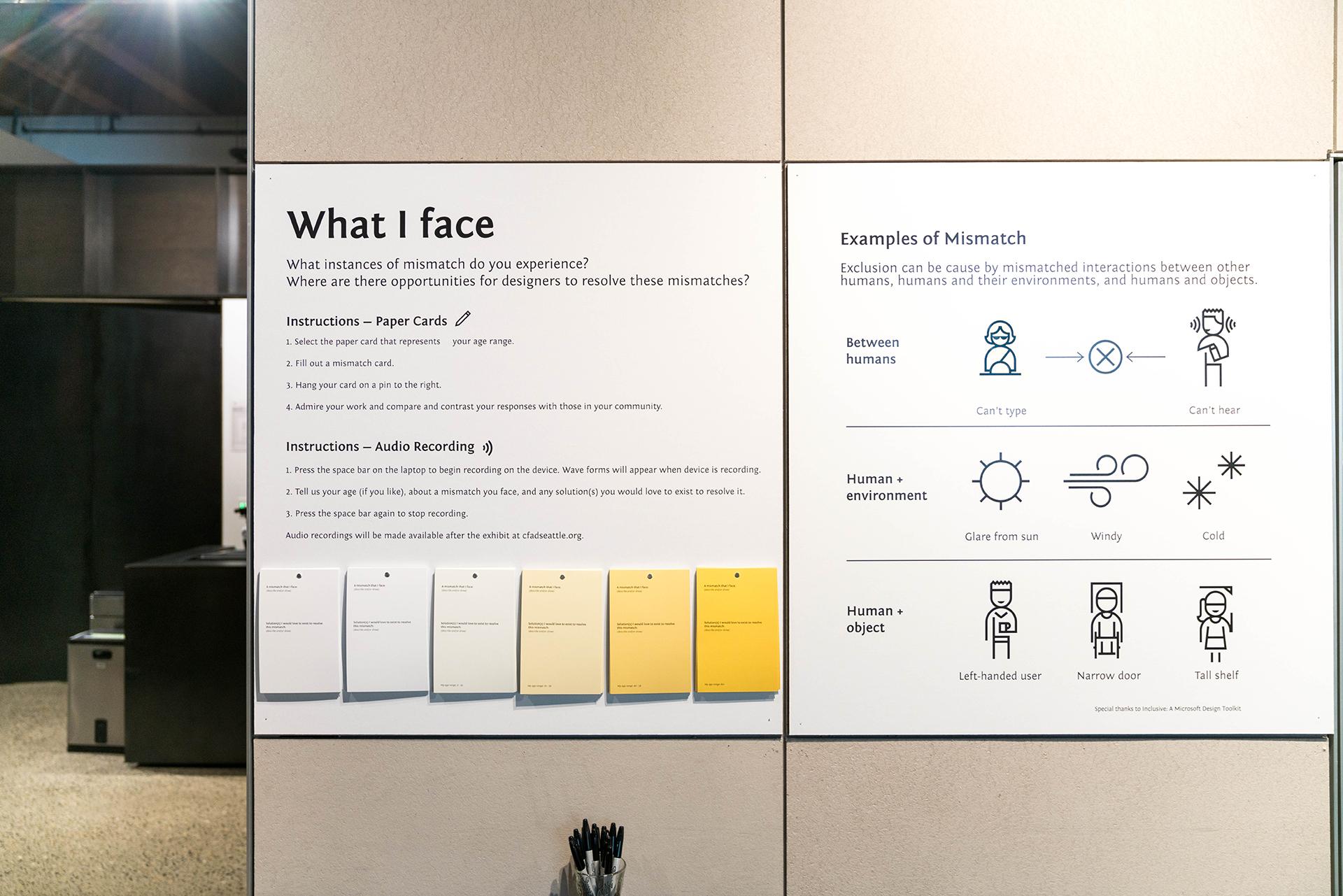 Open to All Exhibit — Leah Vendl   Design