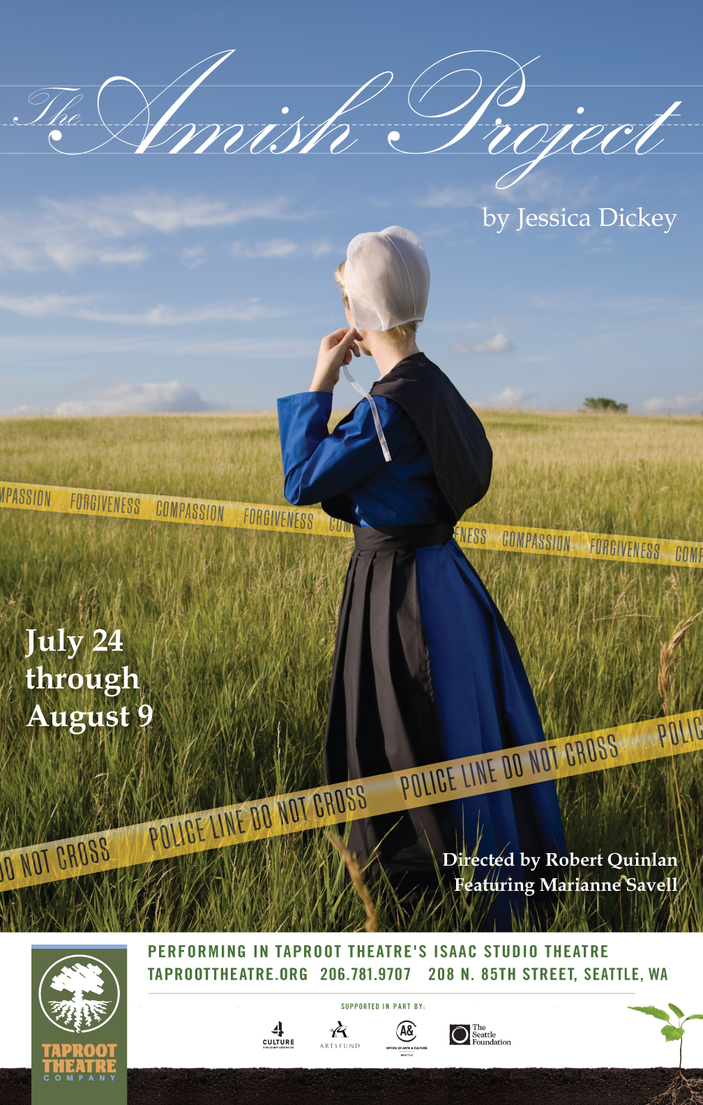 The Amish Project poster