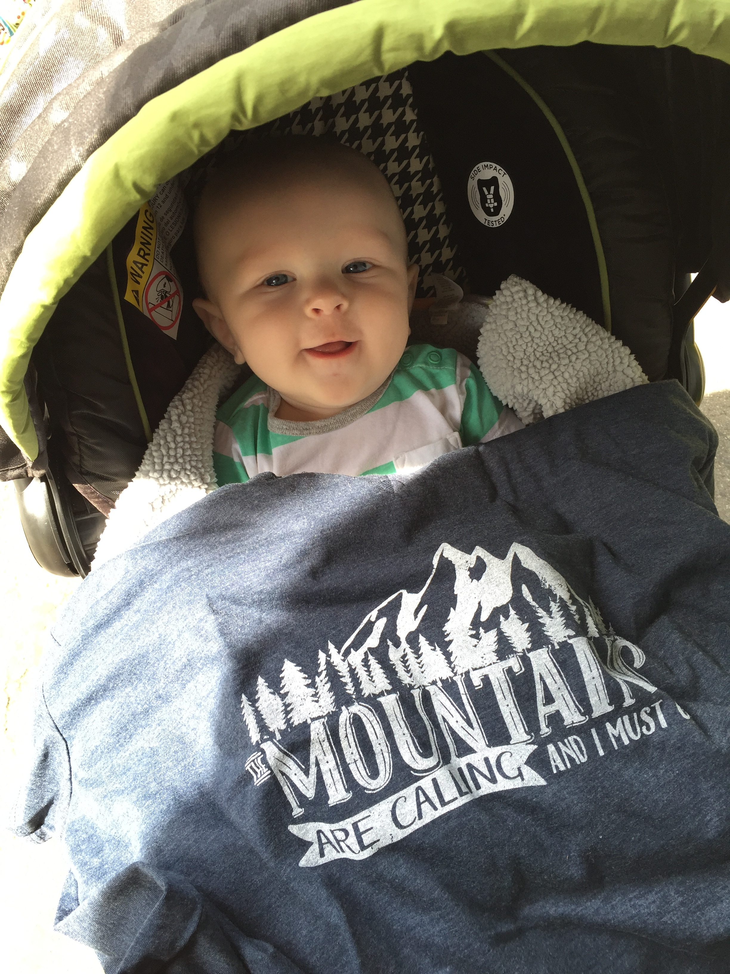 T-shirt design available through  www.decaftees.com . Cute baby not included.