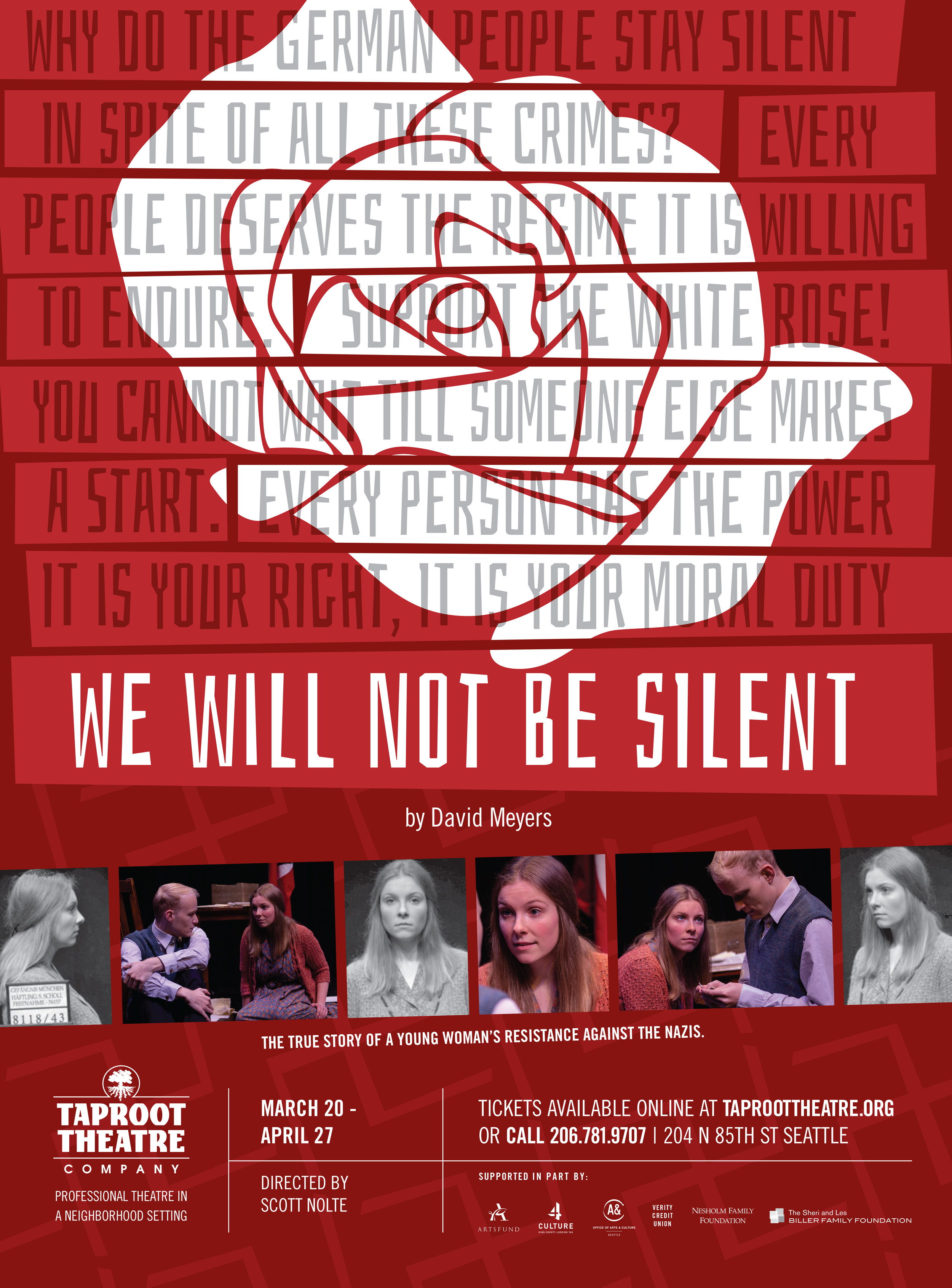WeWillNotBeSilent_poster