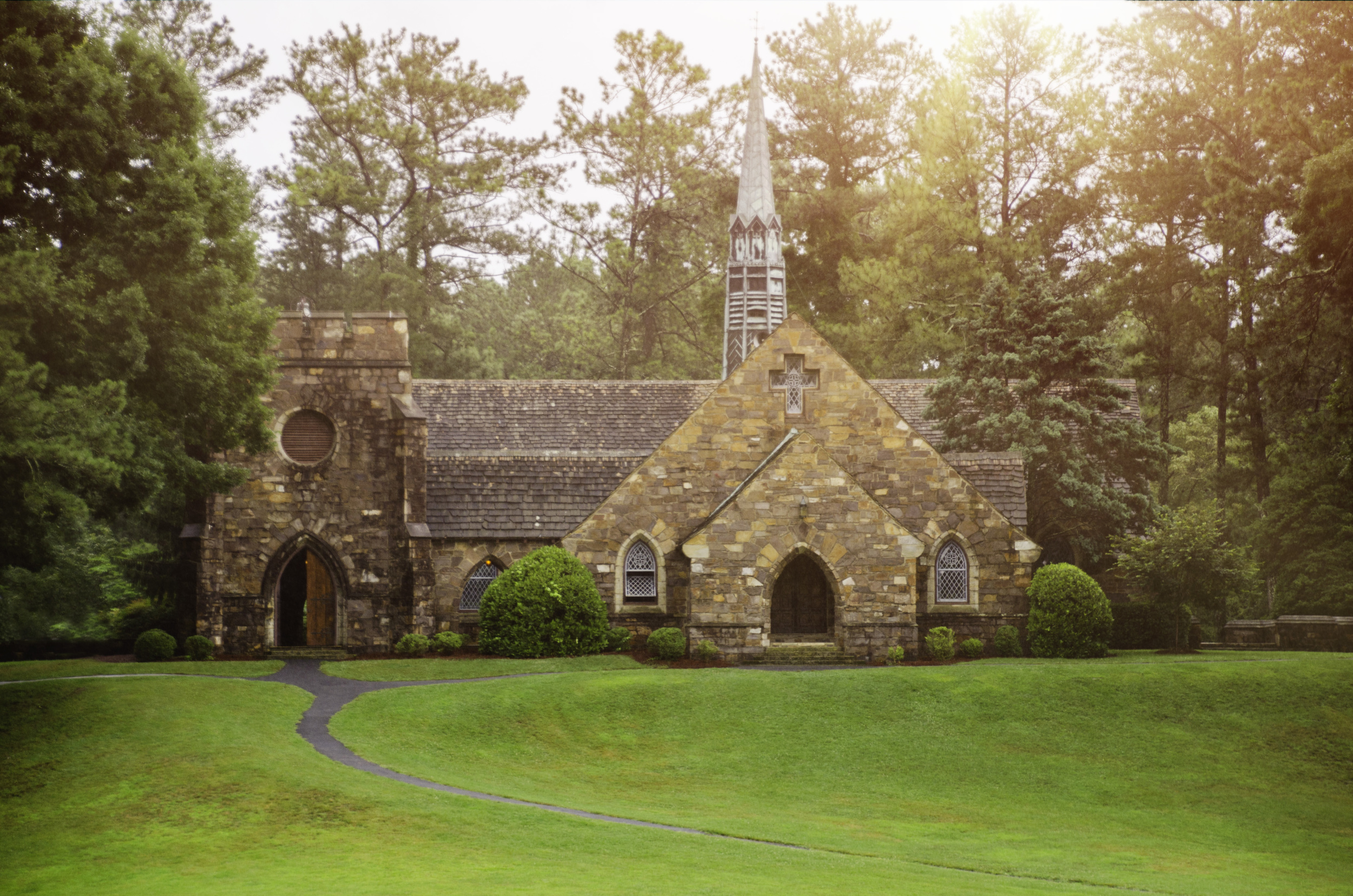 Frost Chapel at Berry College. Our beautiful location!