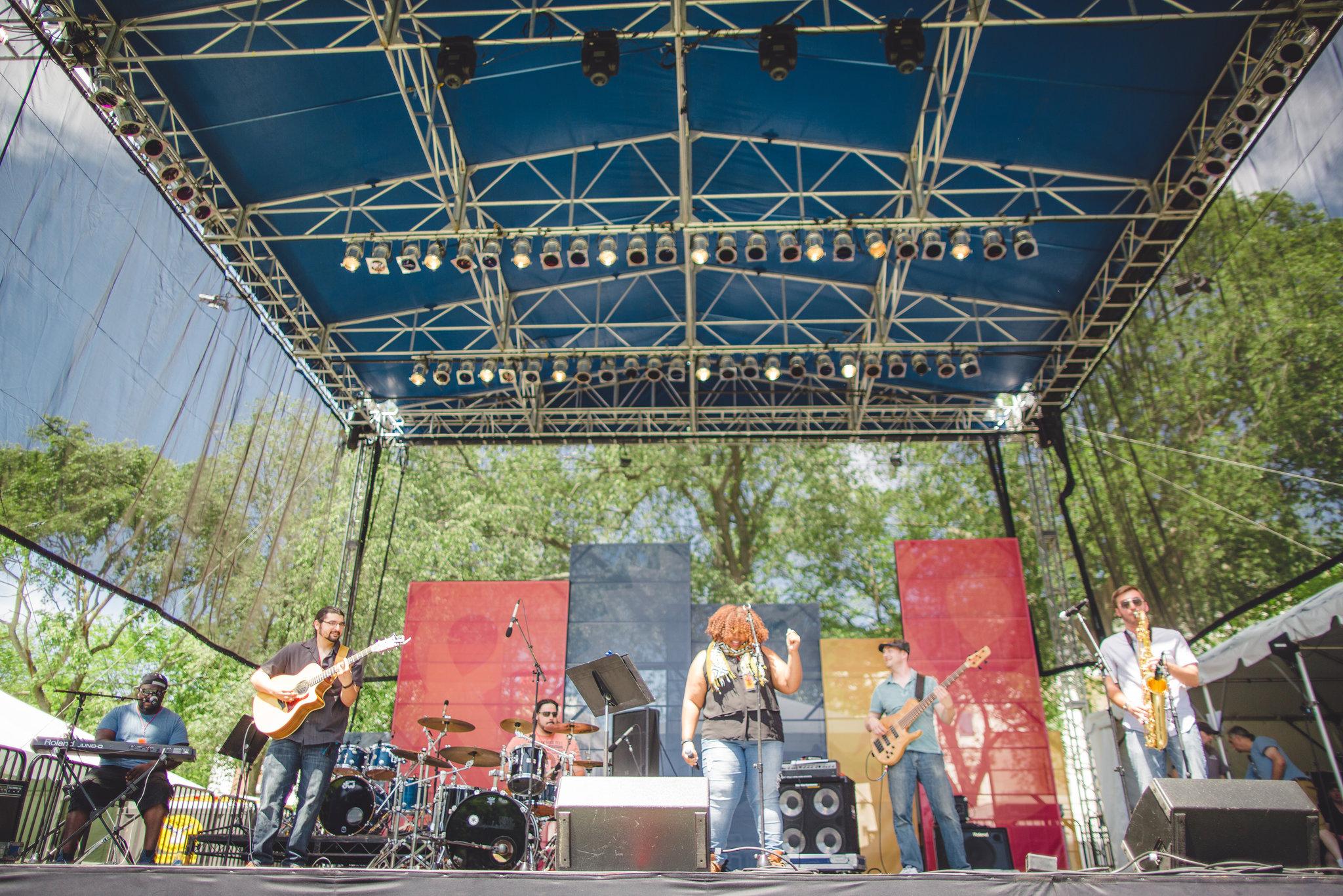Big Bear Tree - New Haven Arts & Ideas Festival - 6/14/2015